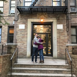 Our first apartment!
