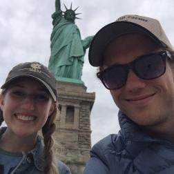 Statue of Liberty selfie